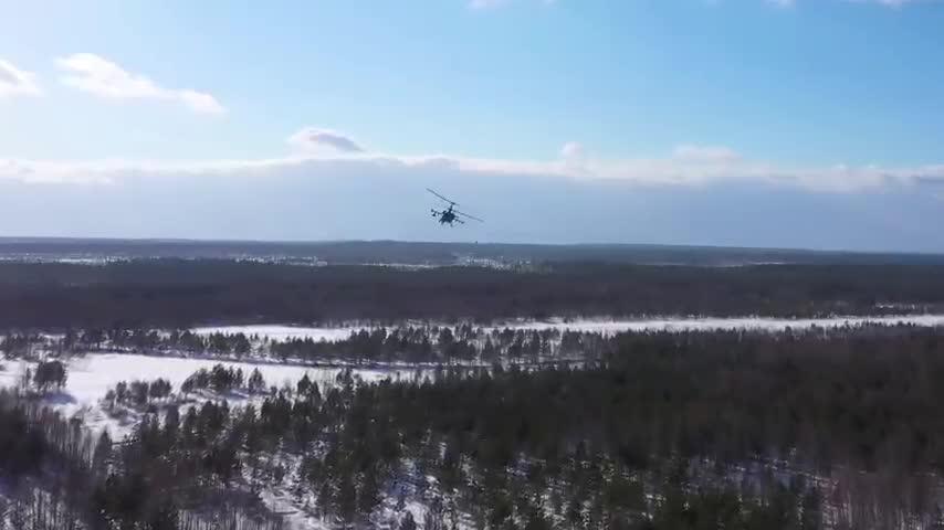 کانون توجه - شوک: بالگردهای روسی با 22 موشک هدایت شونده به شدت حمله می کنند