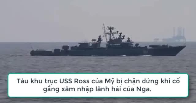 کانون توجه - ویدئو تکان دهنده: قایق گشت روسی در نزدیکی کریمه ناوشکن آمریکایی را رهگیری می کند