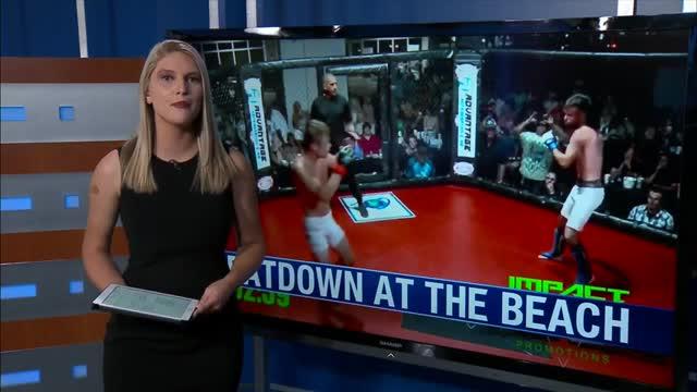 Giải trí - Clip: Tung cú đá 360 độ, võ sĩ MMA khiến đối thủ bất tỉnh trên sàn đấu