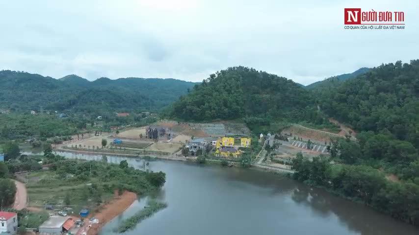 Hoạt động xây dựng vẫn diễn ra bình thường tại rừng phòng hộ Sóc Sơn video 2